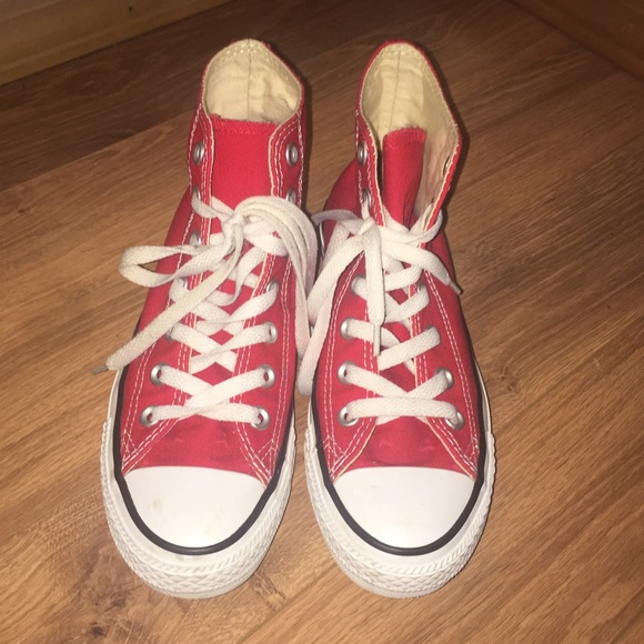 876f1df26fb Converse Shoes - 🌟🌟SALE SALE🌟🌟RED CONVERSE HIGH TOP